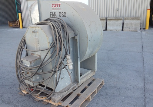 Twin City Fans And Blowers : Crt construction surplus d inventaire